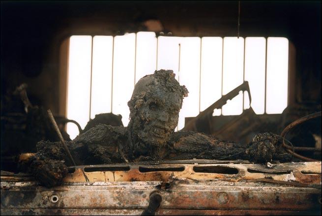 Burnt Soldier