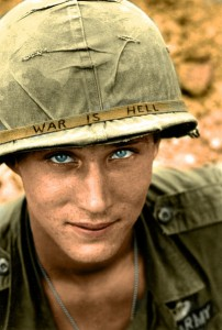 War Is Hell american soldier color