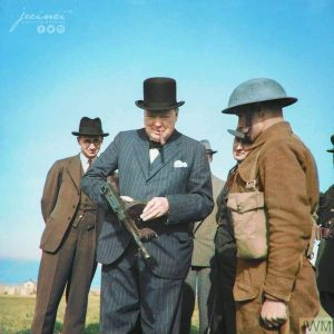 Churchill and the Tommy Gun 1940