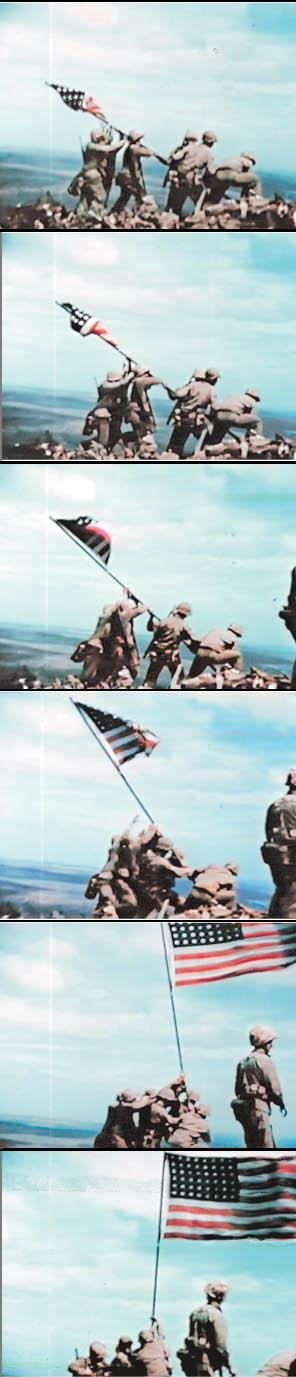 Film Clips from Iwo Jima