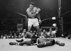 Ali Liston fight AP Photo by John Rooney
