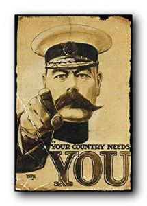 Lord Kitchener Your Country Needs You Art Poster