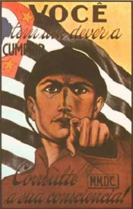 SaoPaulo Constitutionalist Revolution 1932
