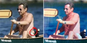 Sarkozy Shirtless photoshop