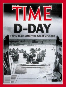 Time Cover Dday 1984
