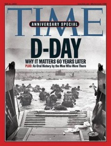 Time Cover DDay 2004