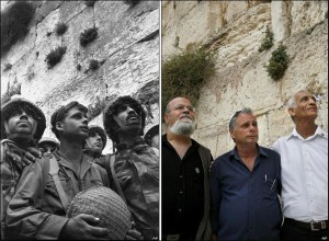 The three men, Then and in 2007, AP IMAGES