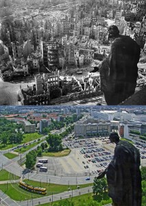 Dresden 1945 and Now