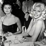 Sophia Loren Meets Jayne Mansfield