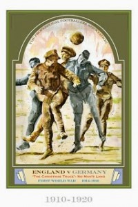 Christmas Truce Football Match 1914 England vs Germany