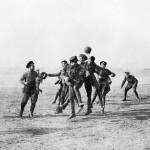 WWI Christmas Truce Football Match