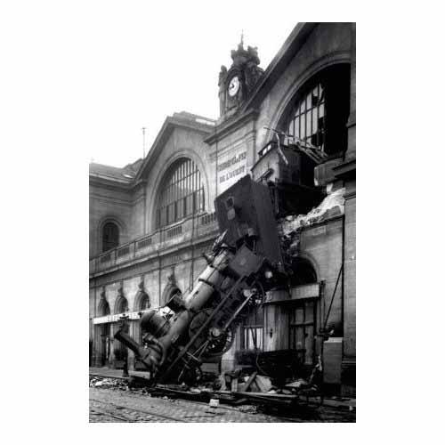 Accident Montparnasse Train