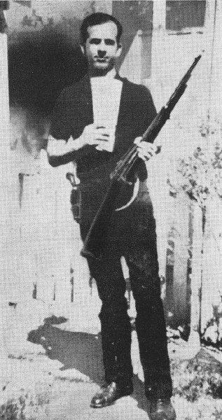Oswald Backyard shot without scope