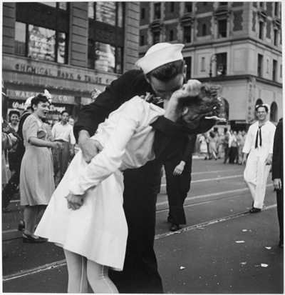 Victory Kiss by Lt Victor Jorgenson
