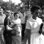 Elizabeth Eckford at Little Rock